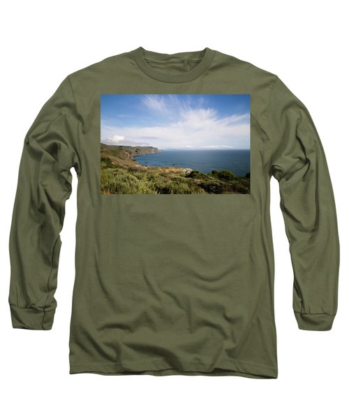 Sonoma Coastline Long Sleeve T-Shirt by Lana Trussell