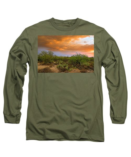 Long Sleeve T-Shirt featuring the photograph Sonoran Desert H11 by Mark Myhaver
