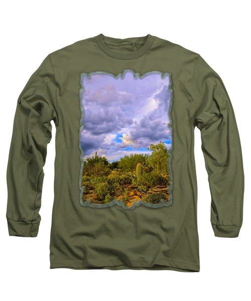 Sonoran Desert V13 Long Sleeve T-Shirt by Mark Myhaver