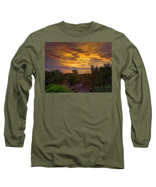 Long Sleeve T-Shirt featuring the photograph Sonoran Sonata H01 by Mark Myhaver