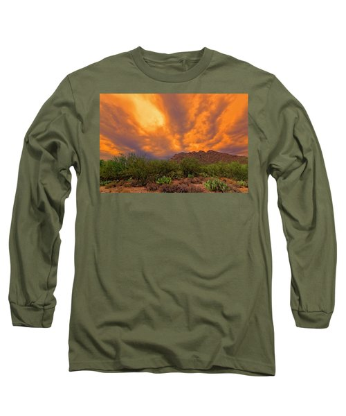 Long Sleeve T-Shirt featuring the photograph Sonoran Sonata H16 by Mark Myhaver