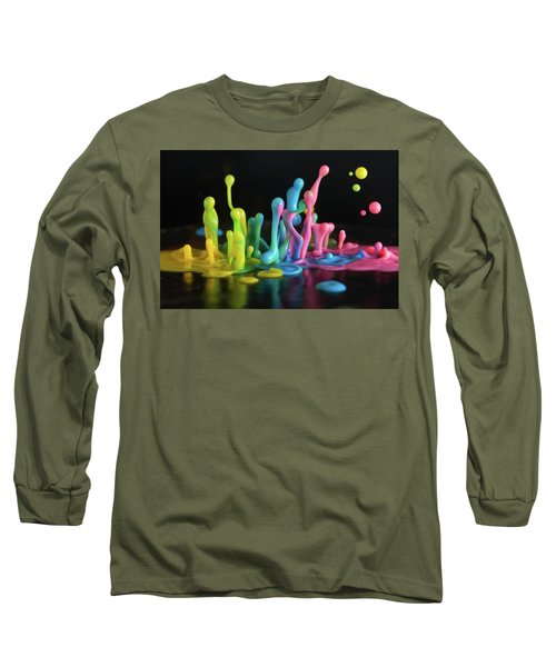 Sound Sculpture Long Sleeve T-Shirt by William Lee