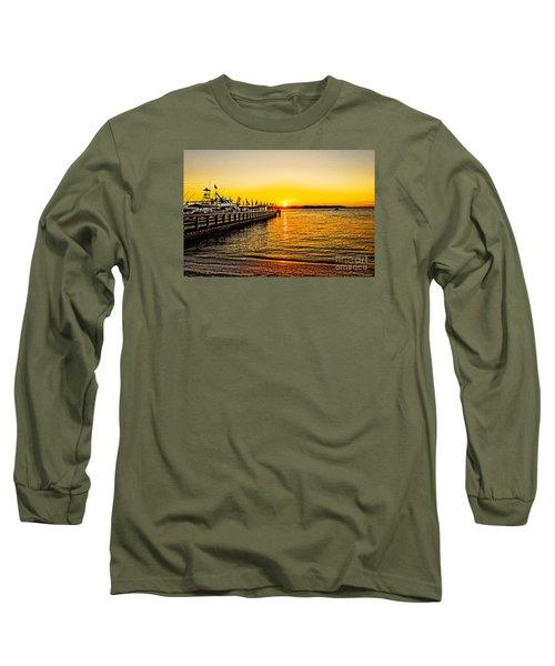 South Beach Sunset Long Sleeve T-Shirt