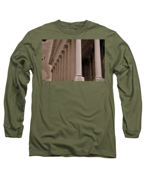 South Carolina State House Columns  Long Sleeve T-Shirt
