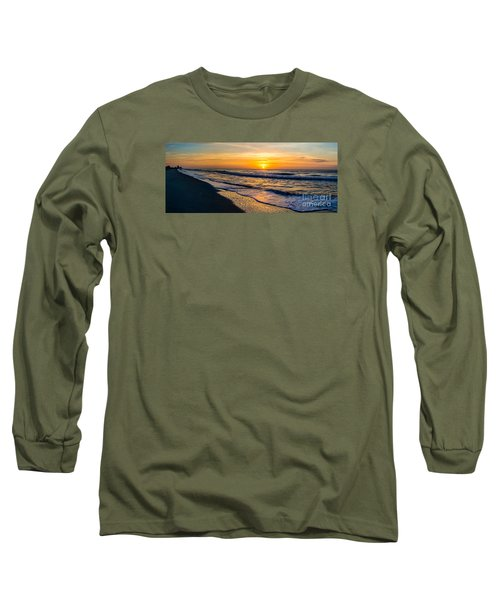 South Carolina Sunrise Long Sleeve T-Shirt by David Smith