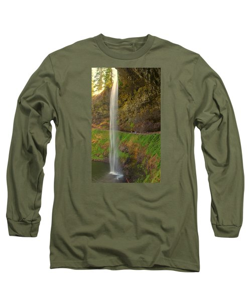 Long Sleeve T-Shirt featuring the photograph South Falls 0448 by Tom Kelly