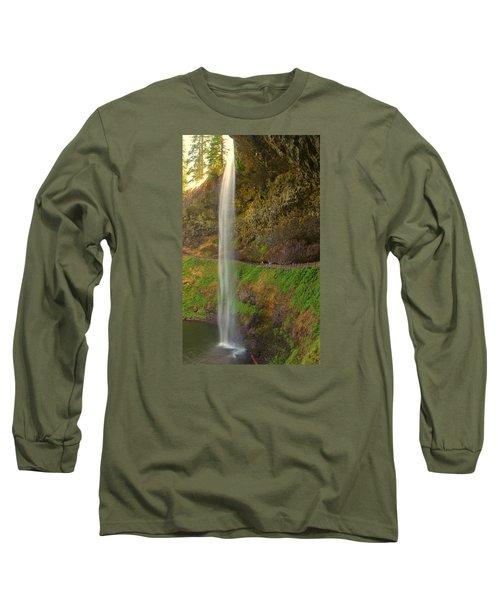 South Falls 0448 Long Sleeve T-Shirt by Tom Kelly