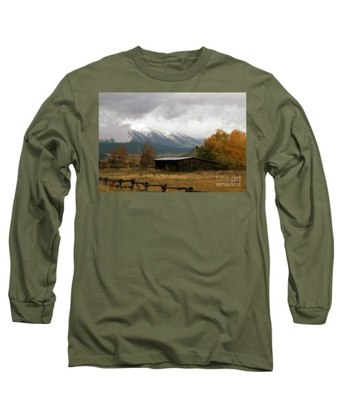 South Idaho Rt 20 Long Sleeve T-Shirt by Cindy Murphy - NightVisions