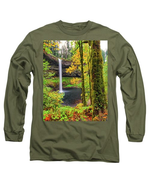 South Silver Falls Long Sleeve T-Shirt