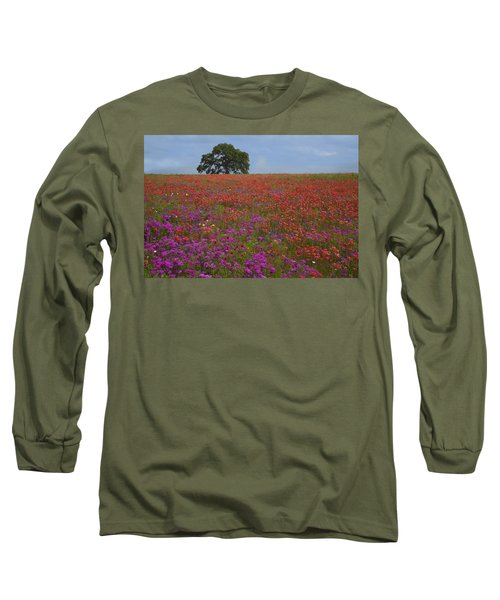 South Texas Bloom Long Sleeve T-Shirt by Susan Rovira