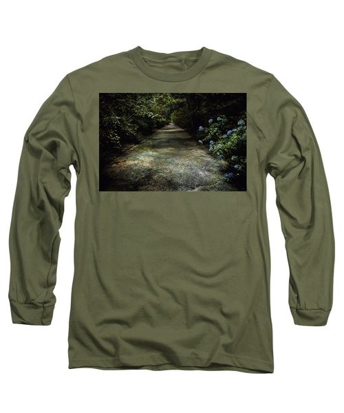 Long Sleeve T-Shirt featuring the photograph Southern Blue by Jessica Brawley