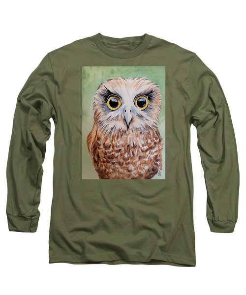 Southern Boobook Owl Long Sleeve T-Shirt