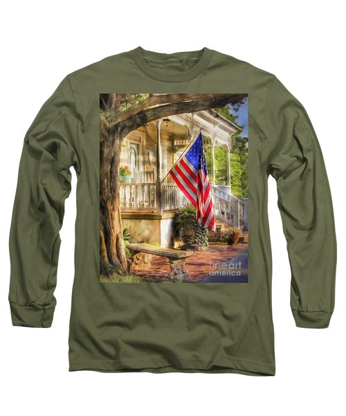 Southern Charm Long Sleeve T-Shirt by Benanne Stiens