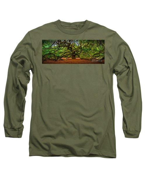 Angel Oak In Charleston Long Sleeve T-Shirt