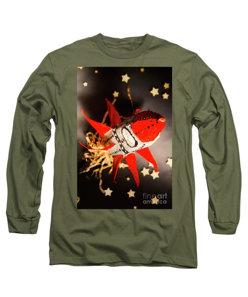 Space Launch To Seek And Discover Long Sleeve T-Shirt