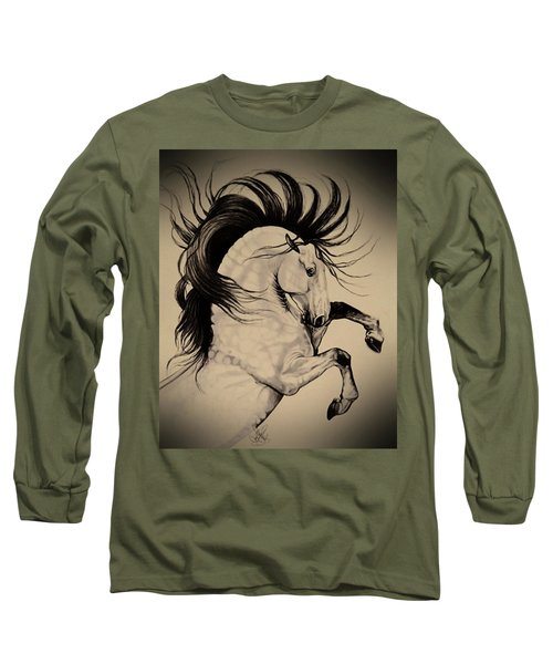 Spanish Horses Long Sleeve T-Shirt