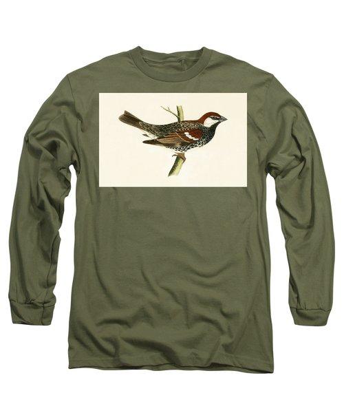 Spanish Sparrow Long Sleeve T-Shirt by English School