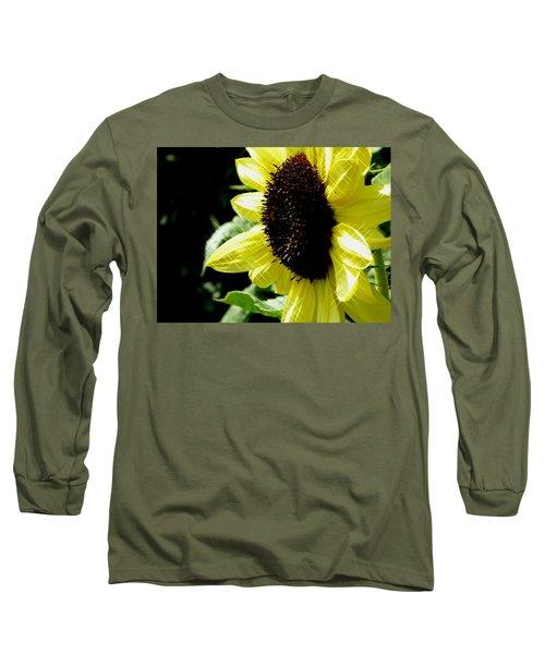 Sparkle Sunflower Long Sleeve T-Shirt