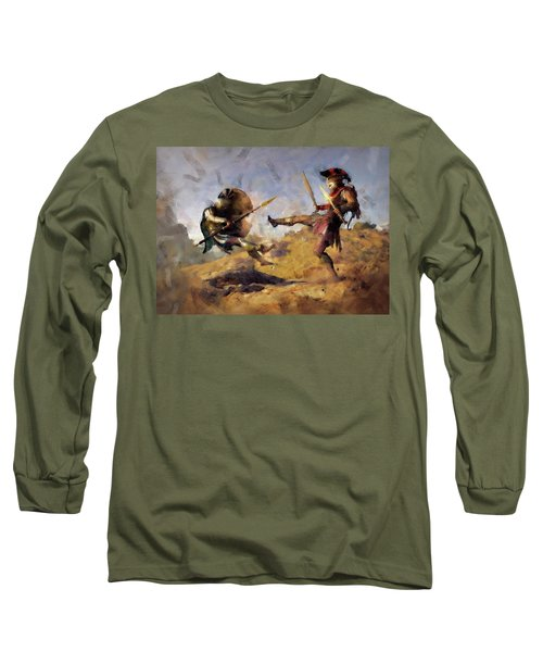 Spartan Hoplite - 12 Long Sleeve T-Shirt