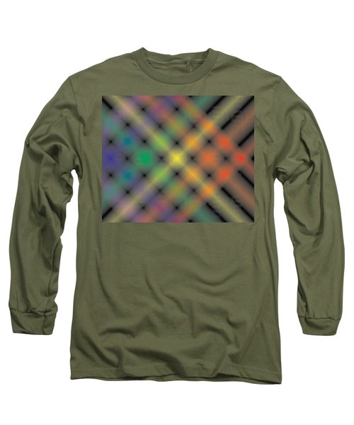 Spectral Shimmer Weave Long Sleeve T-Shirt by Kevin McLaughlin