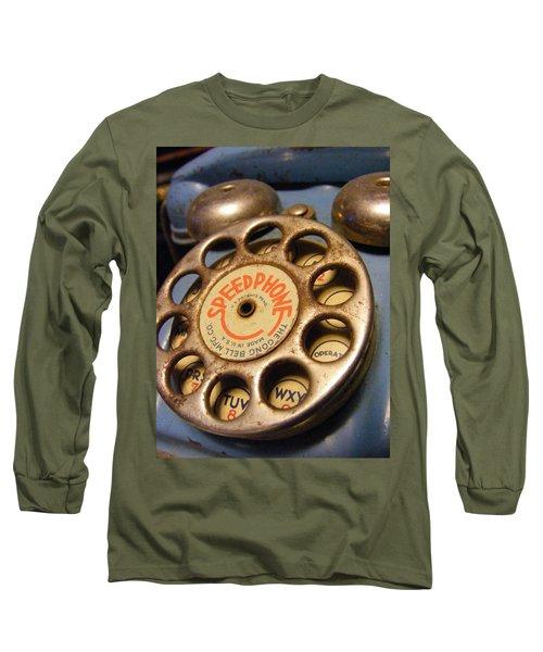 Speed Phone Long Sleeve T-Shirt