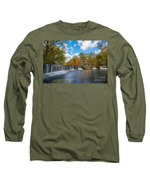 Speedwell Dam Fall Foliage Long Sleeve T-Shirt