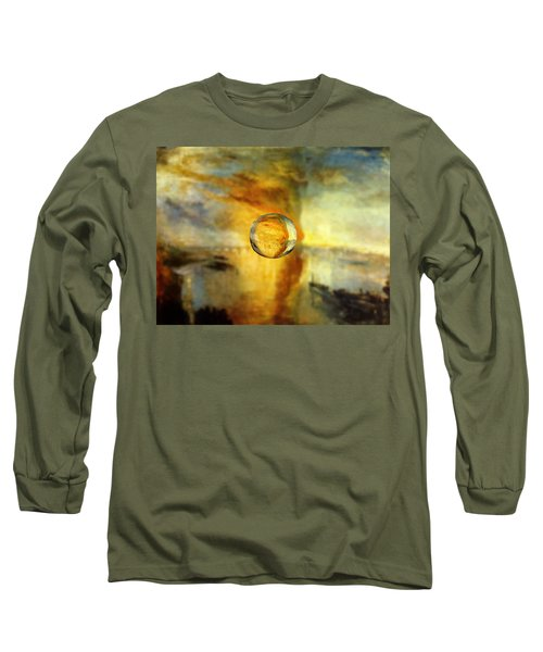 Sphere 26 Turner Long Sleeve T-Shirt by David Bridburg