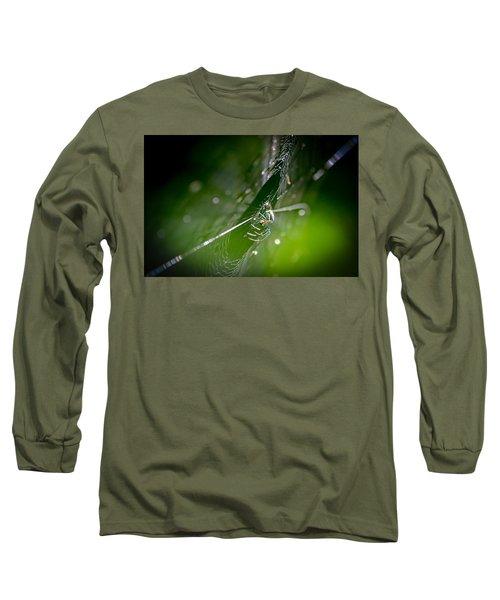 Spider Long Sleeve T-Shirt by Craig Szymanski
