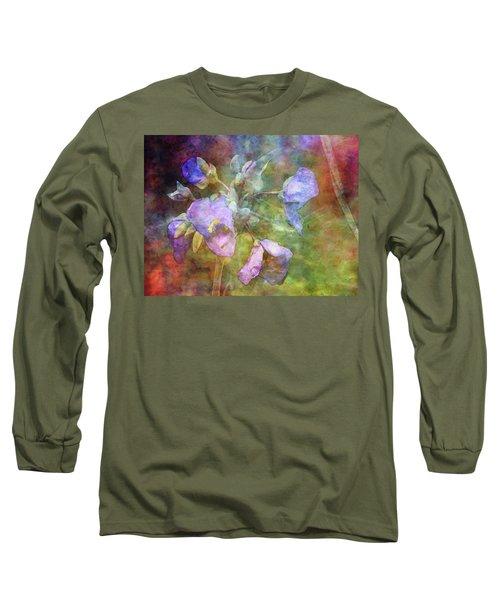 Spiderwort 1398 Idp_2 Long Sleeve T-Shirt
