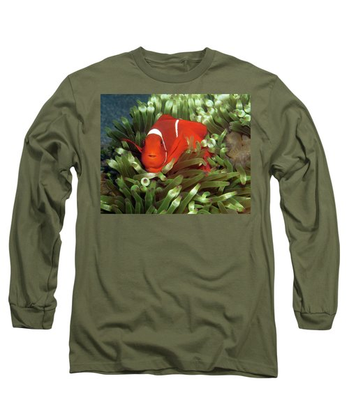 Spinecheek Anemonefish, Indonesia 2 Long Sleeve T-Shirt