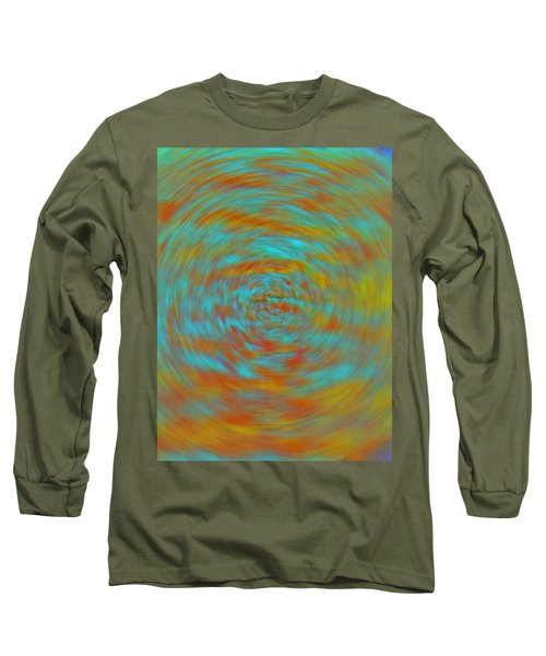 Long Sleeve T-Shirt featuring the photograph Spinning Out Of Control by Lenore Senior