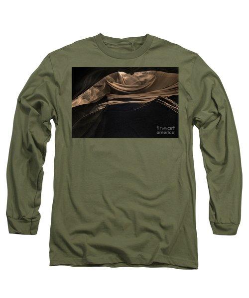Spiraling Toward The Light Long Sleeve T-Shirt by William Fields