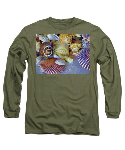 Spirals And Ridges 12 Long Sleeve T-Shirt