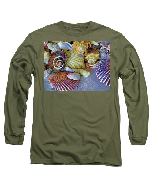 Spirals And Ridges 12 Long Sleeve T-Shirt