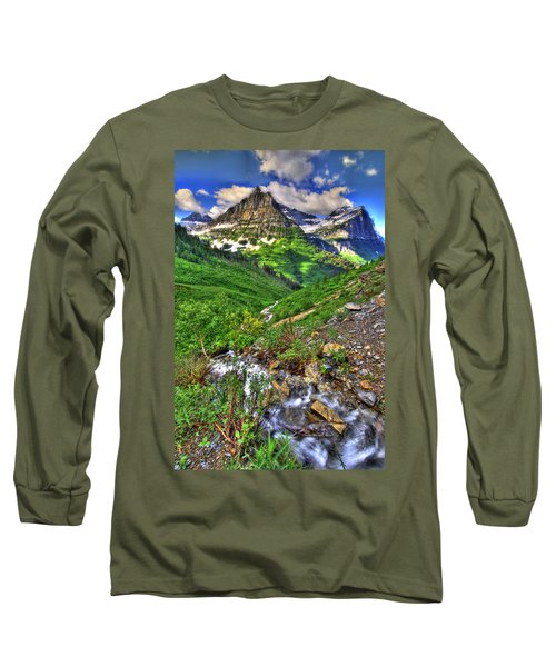 Spires And Stream Long Sleeve T-Shirt