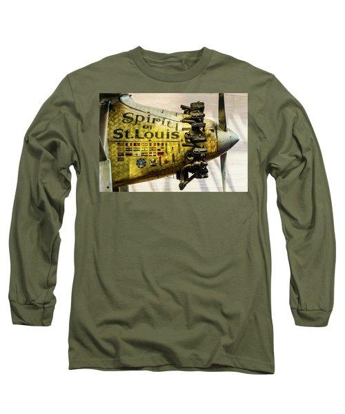 Spirit Of St Louis Long Sleeve T-Shirt