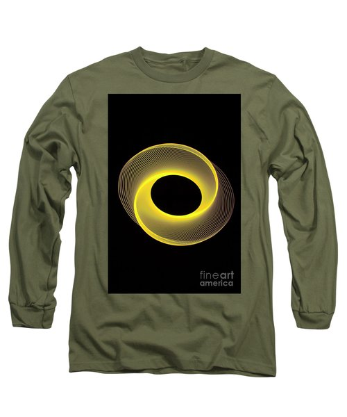 Spirograph Spiral 09 Long Sleeve T-Shirt