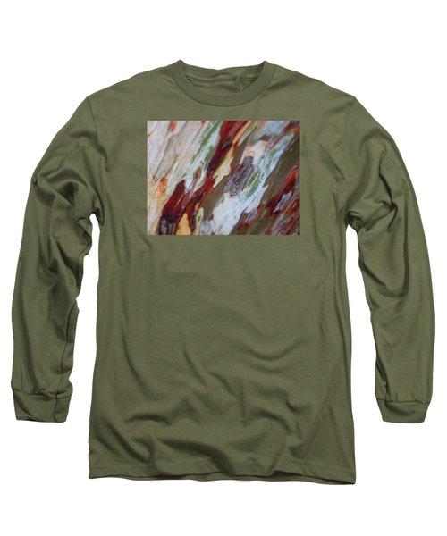 Splash Of Amber Long Sleeve T-Shirt