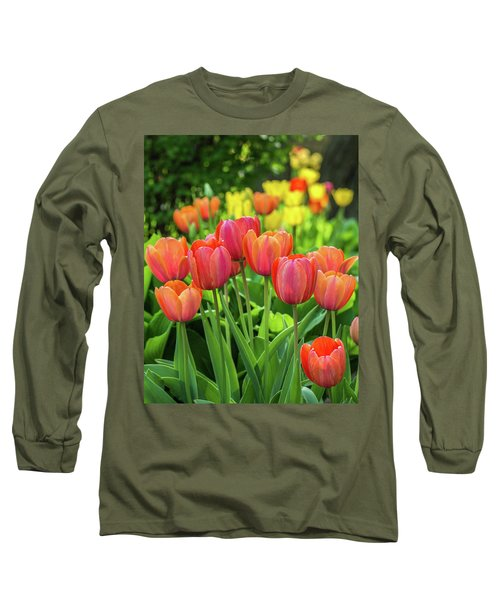 Long Sleeve T-Shirt featuring the photograph Splash Of April Color by Bill Pevlor