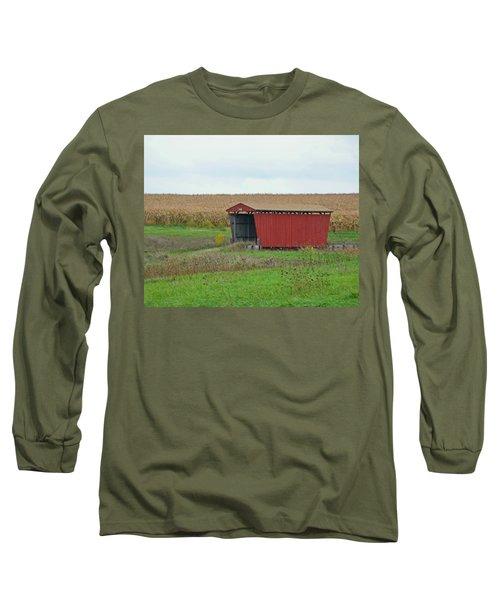 Splinter Covered Bridge Long Sleeve T-Shirt