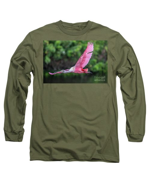 Spoony In Flight Long Sleeve T-Shirt