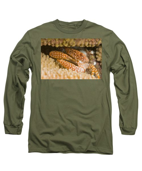 Spotted Guard Crab Long Sleeve T-Shirt