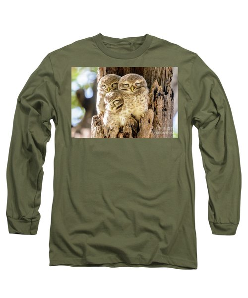 Spotted Owlets Long Sleeve T-Shirt