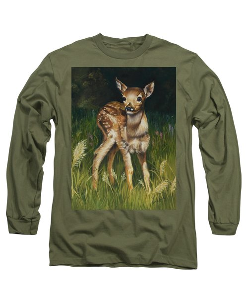 Spring Baby Fawn Long Sleeve T-Shirt