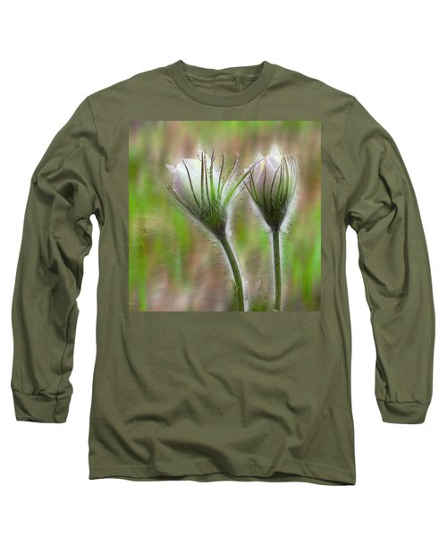 Long Sleeve T-Shirt featuring the photograph Spring Flowers by Vladimir Kholostykh