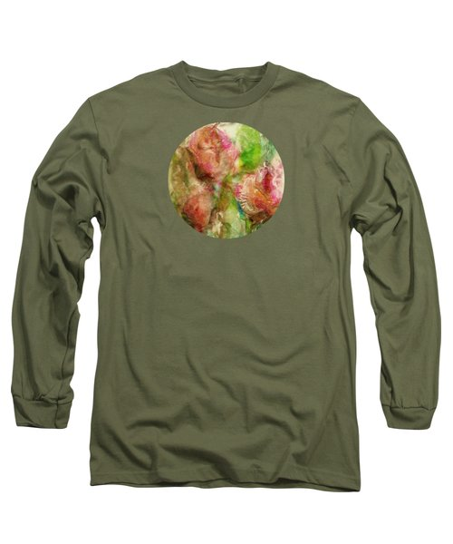 Spring Garden  Long Sleeve T-Shirt by Mary Wolf