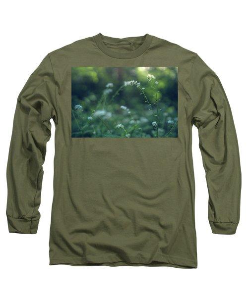 Spring Garden Scene #1 Long Sleeve T-Shirt