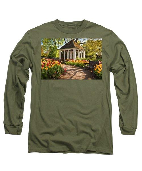 Spring Gazebo Long Sleeve T-Shirt