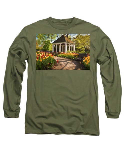 Spring Gazebo Long Sleeve T-Shirt