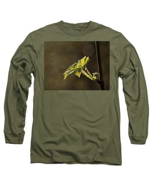Spring Has Sprung - 365-27 Long Sleeve T-Shirt by Inge Riis McDonald